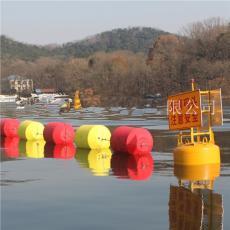 抗臺風攔河網浮漂飄浮物浮球攔截網參數