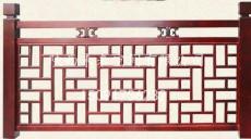 西安防腐木护栏 市政护栏 防腐木栅栏