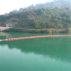 海上擋渣攔截浮漂河道攔汛網浮子產品