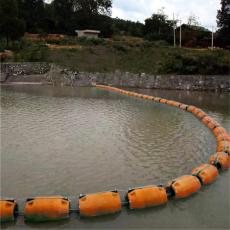 綠萍攔污設施水草雜物攔漂排浮筒