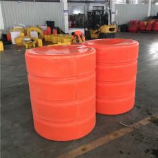 水面塑料袋雜物攔漂裝置塑料浮筒參數