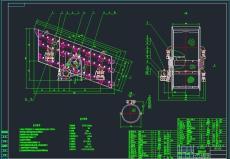 PCZ1012單段重錘箱式破碎機CADCAD制造圖紙