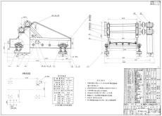 DPC1414單段錘式破碎機CAD制造圖紙