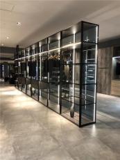 翰諾威新品玻璃柜 玻璃衣柜定制 玻璃衣柜