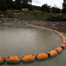 水庫500米塑料攔漂裝置浮筒預算