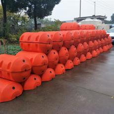 取水明渠攔污網浮筒圓筒形攔漂排設施