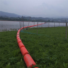 懸浮式攔污網浮漂浮筒式攔漂排尺寸