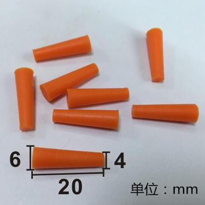 喷涂电镀阳极氧化防护耐高温硅胶塞子锥形螺