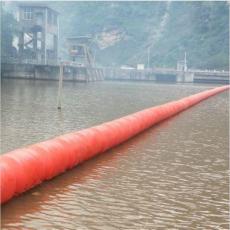 柏泰挂网拦污漂排拦河漂浮物装置