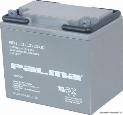 韩国八马阀控式铅酸蓄电池PM80-12 12V80AH