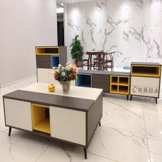 新款全铝合金电视柜全铝家具招商简约北欧