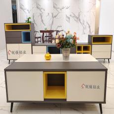 简约全铝合金电视柜高端大气全铝家具型材