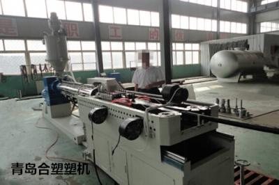 PP/PE/PA单壁波纹管生产线的介绍合塑塑机