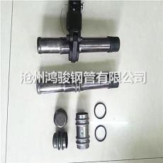 蘇州現貨57x0.8鉗壓式聲測管 超聲波聲測管
