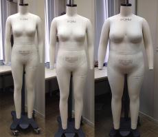 进口alvanon欧美码试衣模特公仔可订制尺寸