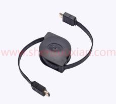 伸缩HDMI高清线定制批发厂家