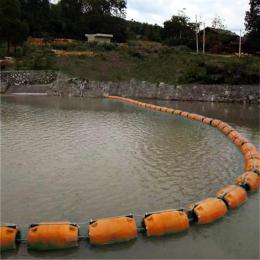 水上漂浮杂物拦截浮筒导漂浮排装置