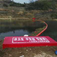 河道漂浮垃圾挡渣拦污浮漂装置