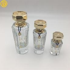 供应八角金色香水盖香水瓶金属盖定制