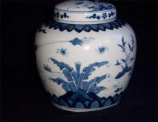 青花题诗纹罐上门交易价值多少钱