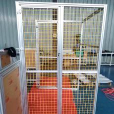 上海安全围栏机器人工业防护栏