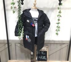 蜡笔小天使羽绒服知名品牌儿童服装批发市场