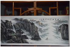 庄彦江山水国画我的中国心