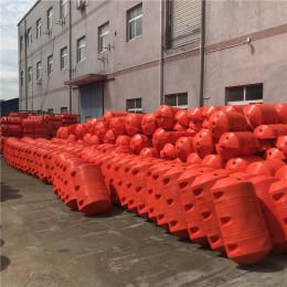 悬浮式拦污绳索高强度拦漂排设施