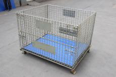 厂家直销铁框折叠仓储笼物流台车周转箱笼