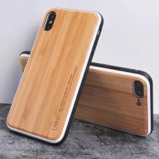 适用iphone7plus木质手机壳 iphonex实木壳