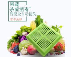 新品清洗器杀菌消毒厨房果蔬食材清洗器绿色