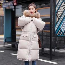 石家庄女装棉衣批发 19短款中长款棉衣棉服