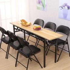 供应合肥阅览桌 出售条形桌 全新折叠桌