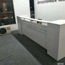 合肥出售公司接待桌 板式收银台 全新前台桌
