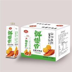 紅薯汁飲料地瓜汁1L8瓶餐飲裝飲品招商代理