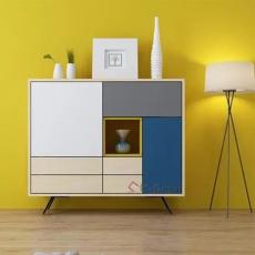 锐镁全铝家具定制 铝鞋柜储物柜 木纹材料