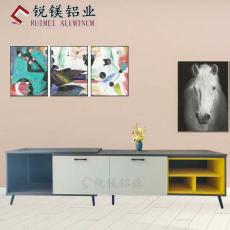 欧式家居全铝电视柜铝材铝合金家具型材批发