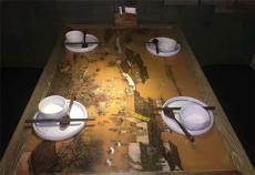 食堂文化墙壁画员工餐厅文化墙 陶瓷壁画