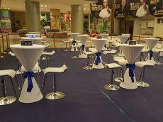 济南出租酒店大圆桌椅 出租玻璃圆桌桌椅