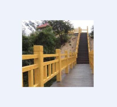 供西宁仿木围栏和青海艺术围栏工程