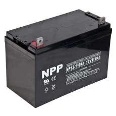 NPP耐普蓄电池NP12-100Ah 12V100AH尺寸规格