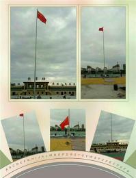 滁州南谯区公园灯杆电动伸缩门升降台彩旗制