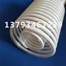 TPU塑筋波纹管 透明耐磨耐高温物料输送软管