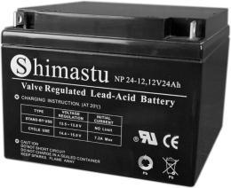 原装Shimastu铅酸蓄电池NP55-12 12V55AH