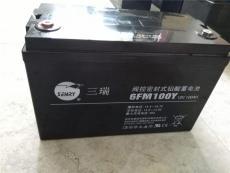 三瑞閥控密封式鉛酸蓄電池6FM24-X 12V24AH