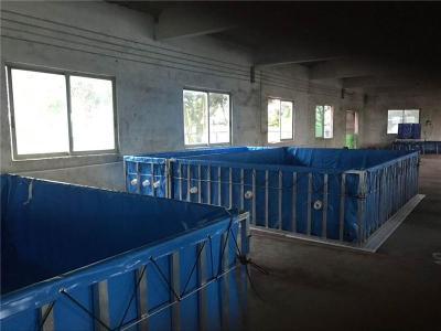 工厂化养殖帆布池-基围虾养殖水池-帆布鱼池