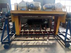 猪粪轨道式翻堆机 四川有机肥厂翻抛设备