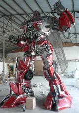 玻璃钢雕塑美陈装饰开业节庆招牌导视