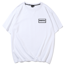 广州天河区T恤衫工作服定制印字宣传文化衫