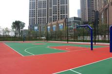 篮球场施工建设及篮球场工程建设价格厂家